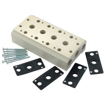 """B Series, to suit 1/8"""" & 1/4"""" BSPP Valves, 1/4"""" BSPP Inlet"""