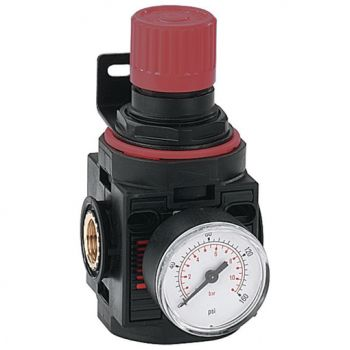 Fully Assembled with 0-10 bar Pressure Gauge & Mounting Bracket, BSPP