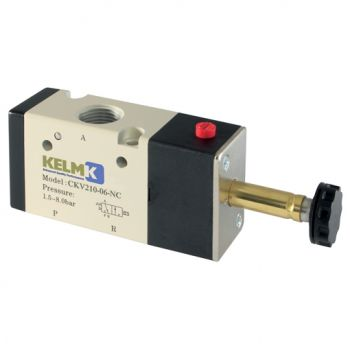 Solenoid/Spring, Normally Closed, BSPP